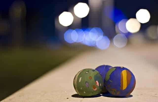 pelotas de malabares