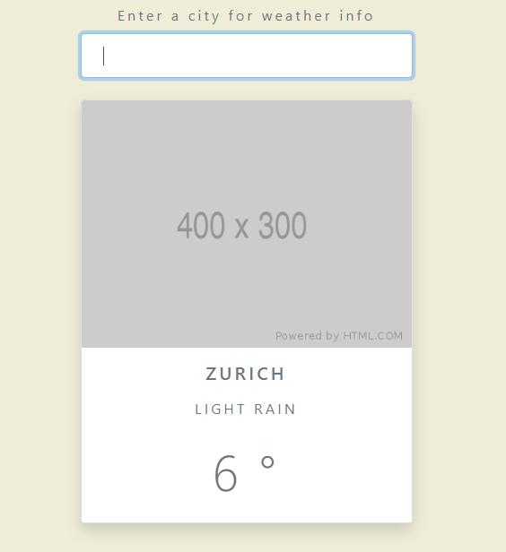 html template resultado